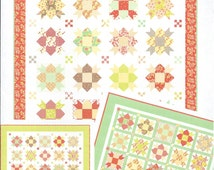Star Crossed Quilt Pattern by Fig Tree & Co., Star Quit Pattern, FTQ 1030