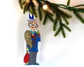 Iris Plush Ornament