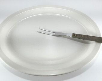 Meat Carving Fork, Vintage Kitchen Gadget, Vintage Serving Utensil, Serving Entertaining, Stainless Steel Utensil, Made in Japan, Chef Gift