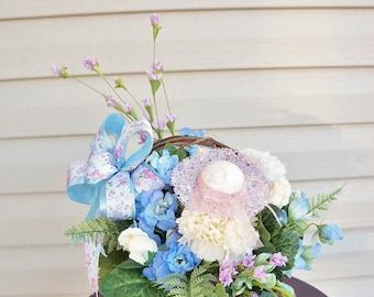 Spring Arrangement, Floral Arrangement, Summer Arrangement,  Mothers Day, Easter, Home Decor, Easter Premium Silk Floral Arrangements