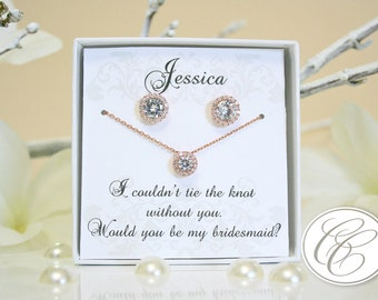 Bridesmaid Sets | Bridesmaid Jewelry | Bridal Sets | Bridesmaid Gifts | Personalized Gifts | Wedding Jewelry | Wedding