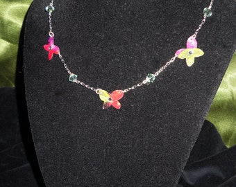Delicate Butterflies necklace