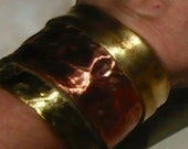 Custom copper and panacea cuff for women custom order