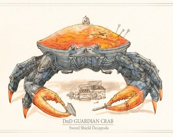 DnD Guardian Crab