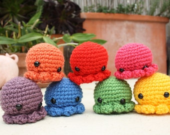 Octopus Plushies - Any colour custom