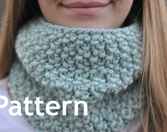 Cold Snap Cowl Scarf Knitting PATTERN