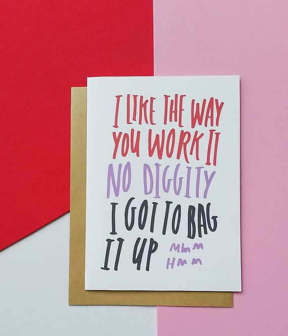 Funny Adult Humor Greeting Card For Your Best By