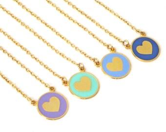 Best Friend Heart Necklace, 4 friendship necklace, Best Friend Necklace For 4 Best Friend Necklace, bff necklace for 4 Sister Necklace For 4