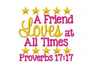 Proverbs 17 17   Etsy