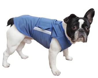 French Bulldog Extra Warm Winter Dog Coat - Dog Jacket - Custom Dog Coat - Waterproof / Fleece - Custom made for your dog