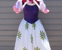 The Haunted Mansion Tightrope Walker costume, Women's