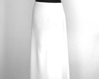 White long skirt / top black / white dress / long dress / white dress / adlib Ibiza / hippie boho chic