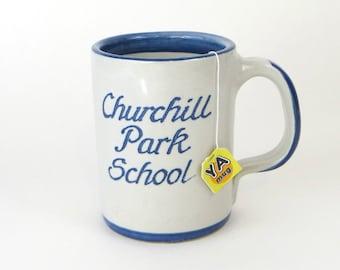 Vintage Churchill Park School - Louisville Stoneware mug