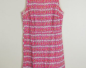 Pink Floral Sun Dress by Old Navy