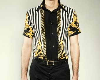 Baroque Men's Short Sleeve Shirt