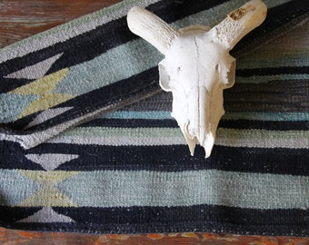 Vintage Navajo Rug, Saddle Blanket, Southwestern Decor