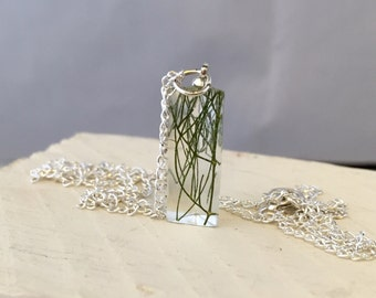 Real Fennel - sterling silver botanical jewellery
