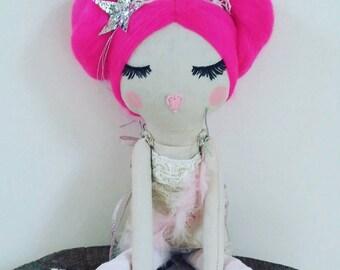 READY TO SHIP Original Cloth Doll