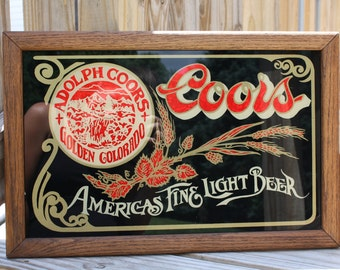 Coors Light Etsy