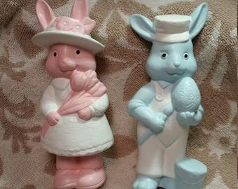 Pastel Bunny Pair