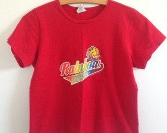 Red Rainbow Brite T Shirt