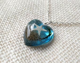 Buy 2 Get 1 FREE Heart of the Ocean, Oregon Coast Necklace