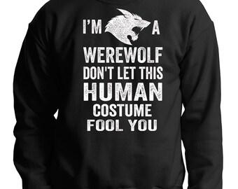 Warewolf Sweatshirt Halloween Party Costume Sweater Halloween Gift Sweater