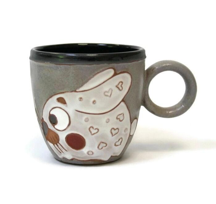 Cute Mug Rabbit Ceramic Mug Coffee Mug Coffee Cup Ceramic