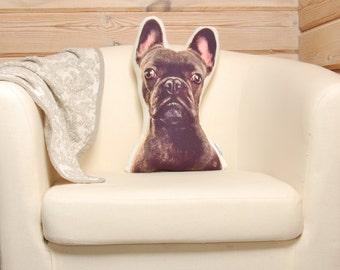 Custom Dog Pillow,  personalized pet pillow, custom pet pillow, dog lover gift, dog  memorial