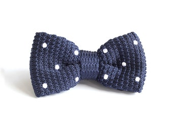 Personalized Wedding Knit Bowtie,Mens Knit Bowtie,Knit Bowtie,Mens Grooming,Bowtie for Party,Mens Gifts,Christmas Gift