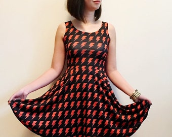 Aladyin Sane - David Bowie Skater Dress