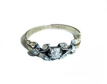 Georgian Delicate Diamond Band