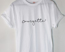 Alfie Inspired Courgette? Youtuber Tee by Soft Punk Apparel