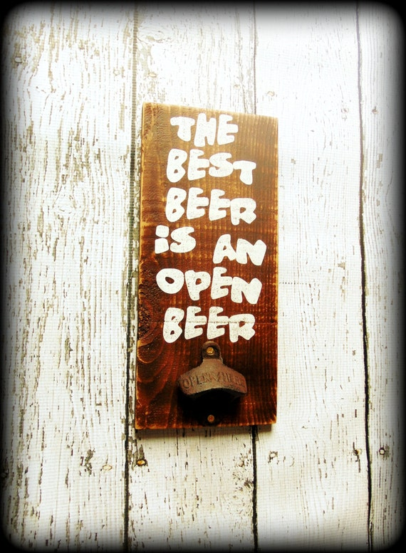 Man Cave Father S Day Gifts : Man cave sign rustic father s day gift beer