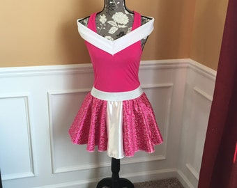 Sleeping princess Pink Running outfit~ Skirt/Tank/costume