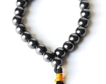 Natural Hematite Crystal Beads Bracelet