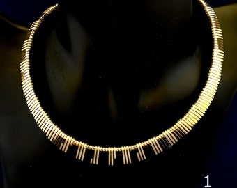 Vintage Gold Chokers | 1980s Bloomingdales | 3 Styles SALE 25% Off