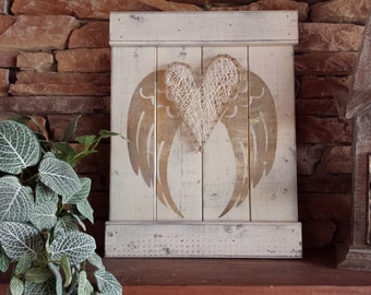 RUSTIC ANGEL WINGS, angel wing decor, angel symbolism, gold angel wing wall decor, rustic mothers day, distressed shabby chic decor
