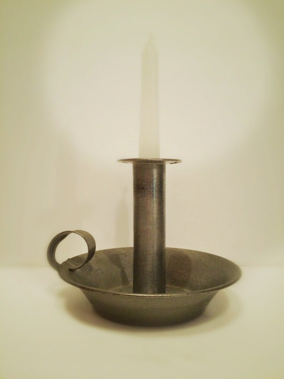 hand held candle holder vintage candle holder old fashion
