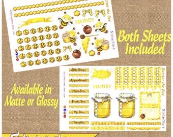 Buzzter Bee & Friends the cutest Planner Stickers