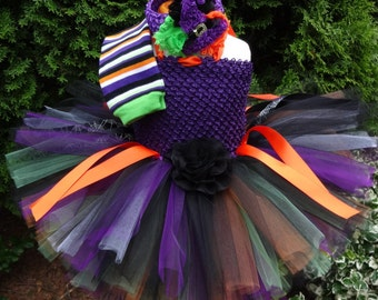 Halloween Witch Costume, Baby Witch Outfit, Halloween Tutu, Halloween Costume, Witch Tutu Outfit, Toddler Halloween Costume, Toddler Witch