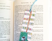 Cute bookmark - Colorful - Book lover gift - Library