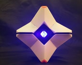 Destiny Ghost Model - LARGE - 3D Printed Model, Cosplay Prop - LED Options!