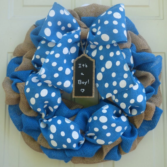 Baby boy shower decorations baby boy nusery by for Baby boy hospital door decoration