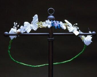 Dainty Flower Crown - OOAK