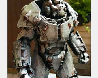 X01 Power Armor Fallout 4 Desktop Display Model 6 & 9 Inch Variations