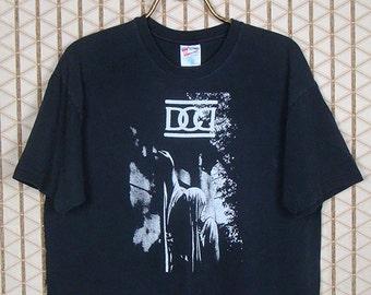 Dead Can Dance vintage rare T-shirt, black tee, 1980s goth, Lisa Gerrard Brendan Perry, This Mortal Coil, 4AD, Cocteau Twins