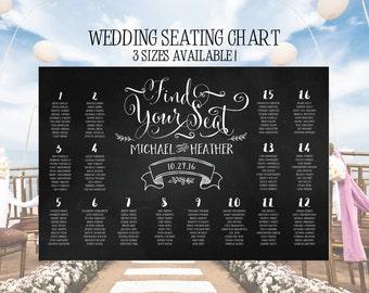 Wedding Seating Chart Poster, Wedding Seating Chart, Wedding Seating Chart Board, Seating Chart Wedding, Chalkboard Seating Chart