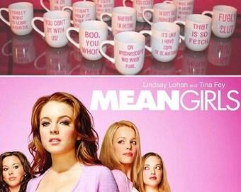 Mean Girls Quote Mug.You're like really pretty.On Wednesdays we wear pink.So Fetch.Best Friend.BFF. Coffee Mug.Mean girls mug