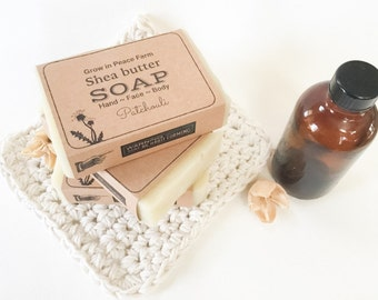 Calming Patchouli Soap - Shea butter, All natural Soap, Hippie Soap,  Handmade Soap, Homemade soap